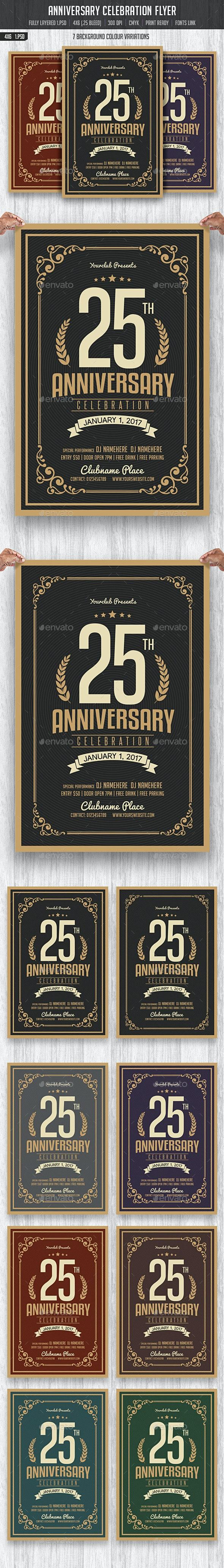 Anniversary Celebration Flyer - Events Flyers