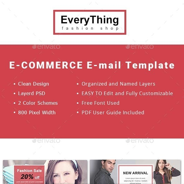 Every Thing Email Newsletter Template