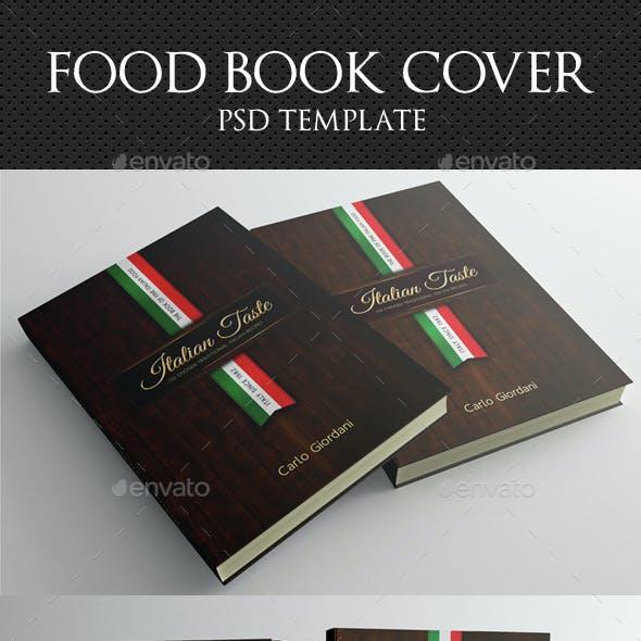 Italian Taste Book Cover Template