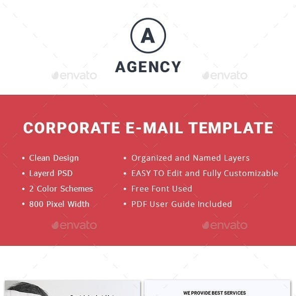 Multipurpose AgencyEmail Template