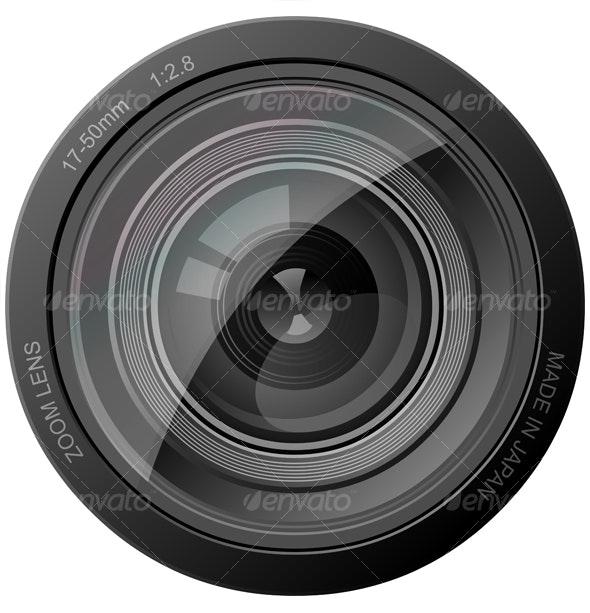 Camera Lens - Media Technology