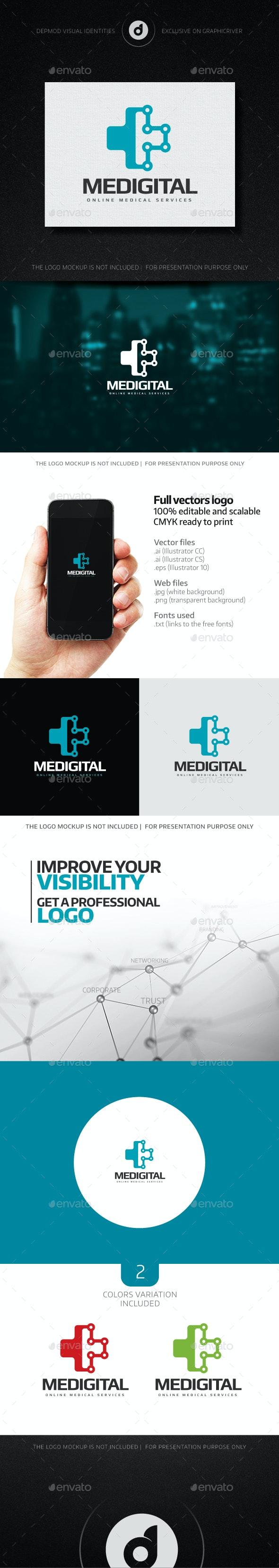 Medigital Logo - Logo Templates