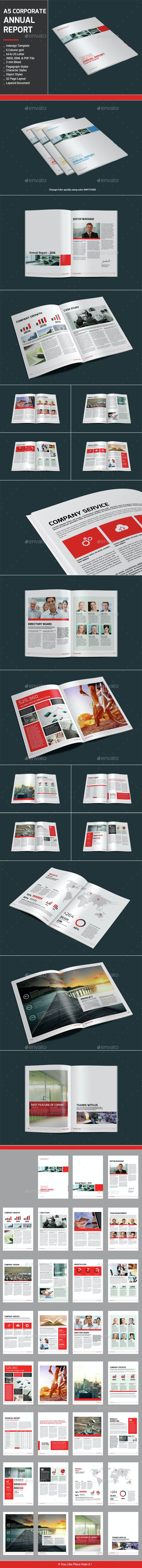 A5 Corporate Annual Report - Corporate Brochures