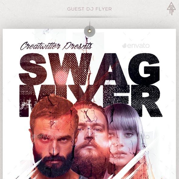 Guest DJ Poster/Flyer Template