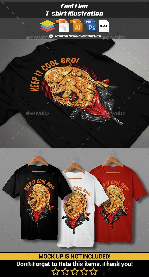 Cool Lion - Funny Designs