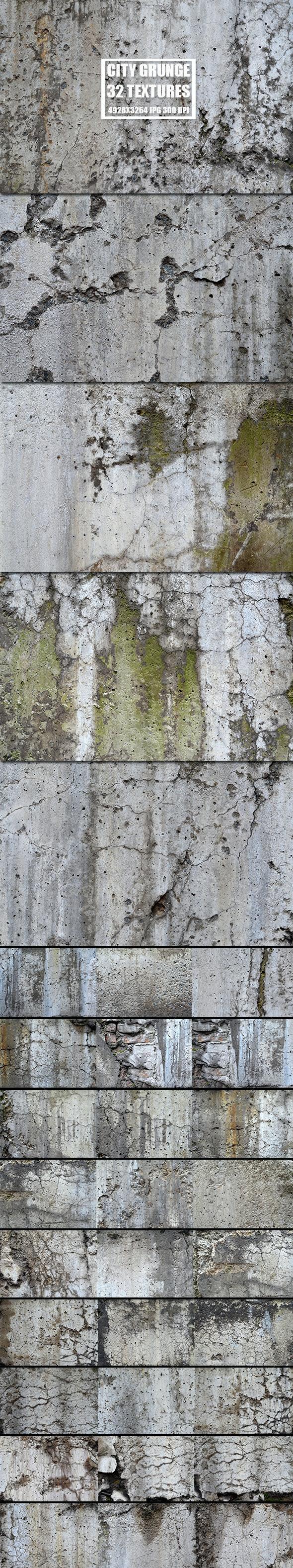 City Grunge 2 - Industrial / Grunge Textures