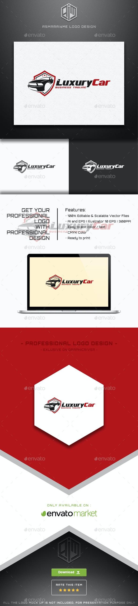 Luxury Car Logo - Symbols Logo Templates