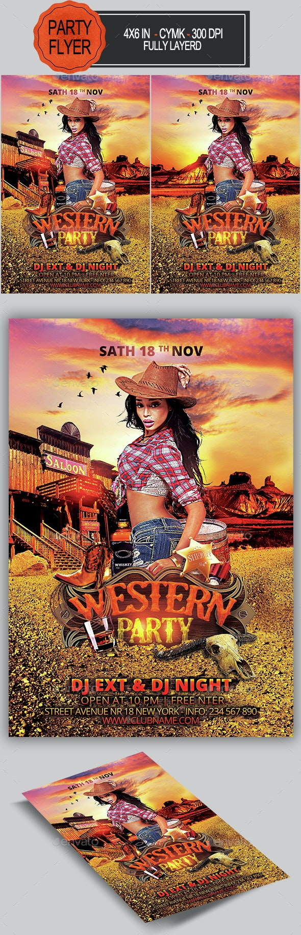Western Flyer - Clubs & Parties Events