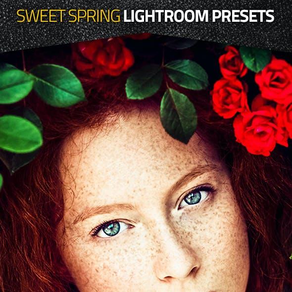 Sweet Spring Lightroom Presets