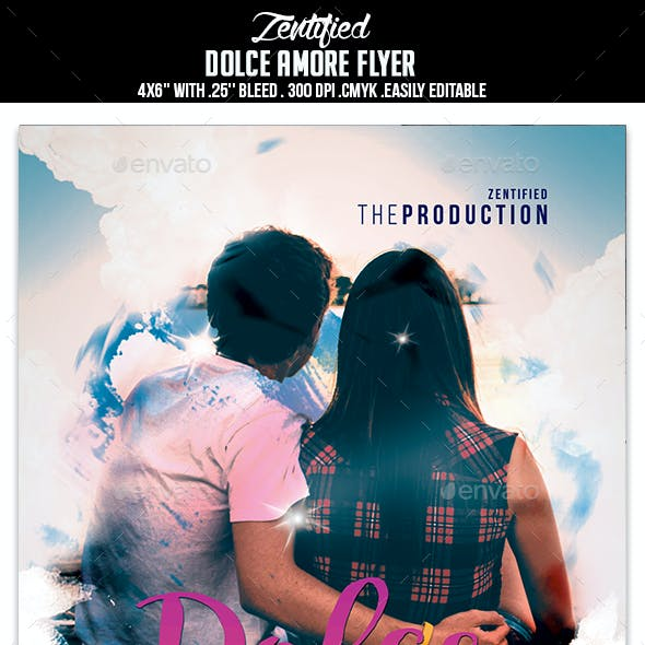 Dolce Amore Flyer