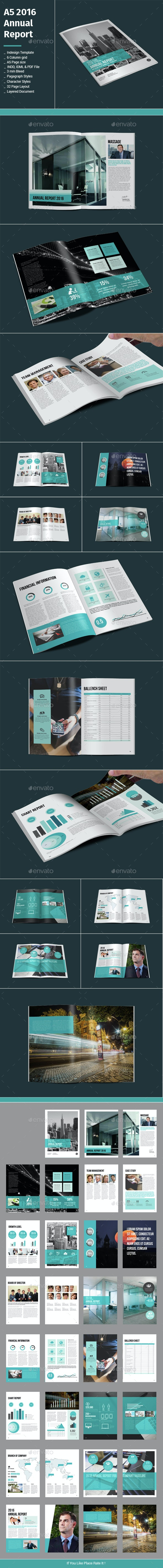A5 2016 Annual Report - Informational Brochures