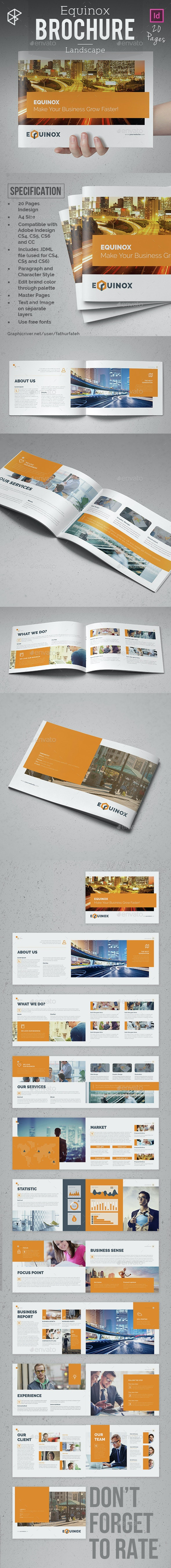 Equinox Brochure - Landscape - Corporate Brochures