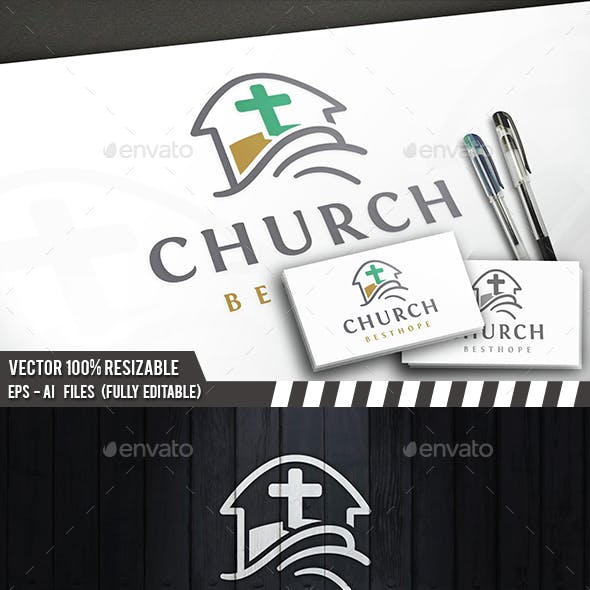 Church Wave Logo