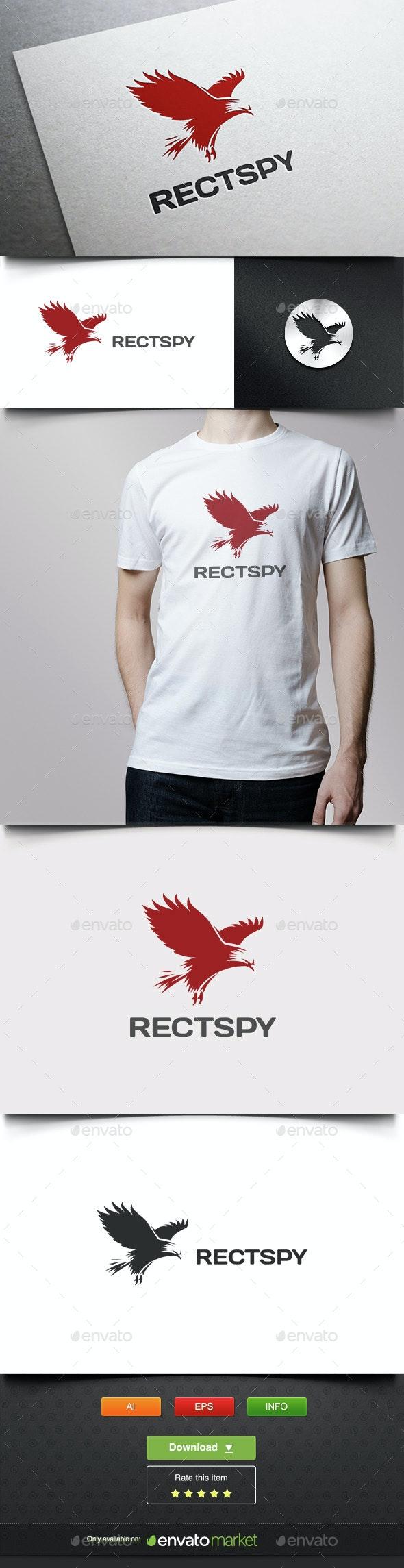 Black Eagle - Animals Logo Templates