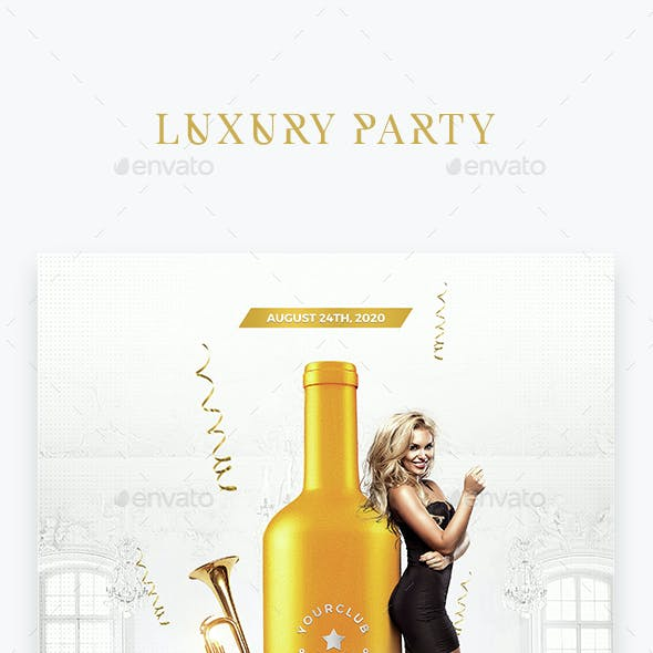 Luxury Party Flyer Template