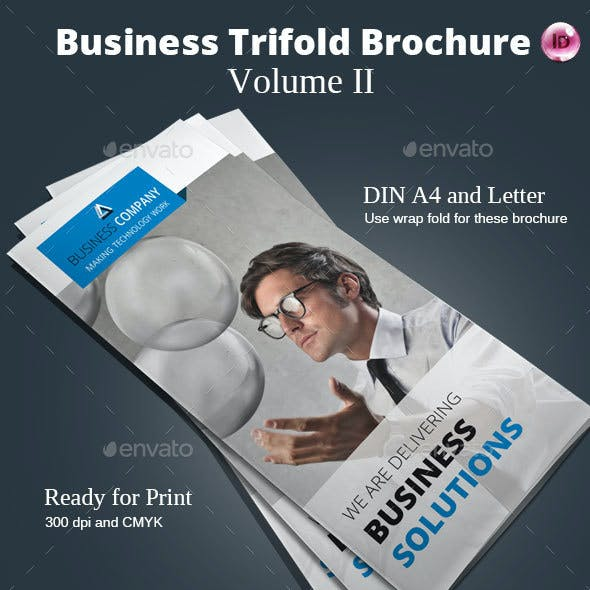 Business Trifold Brochure Vol. II