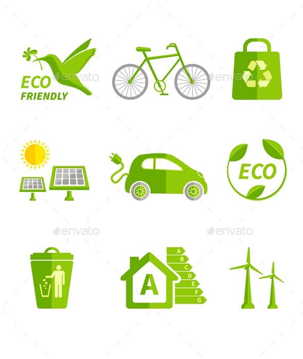 Ecology Icons - Icons