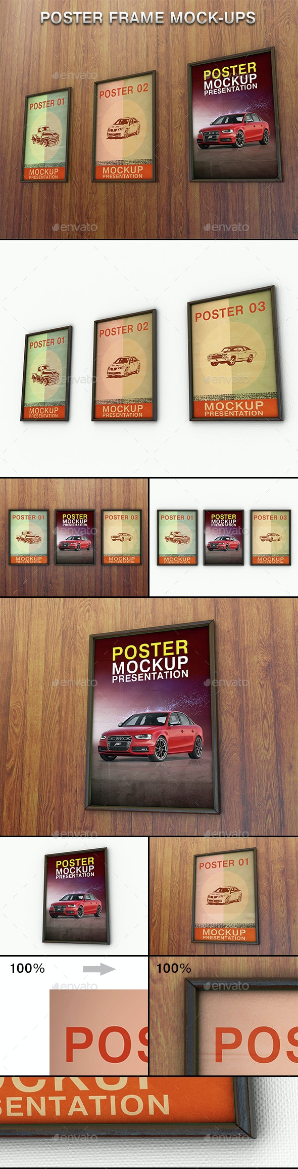Frame Poster Mockup - Posters Print