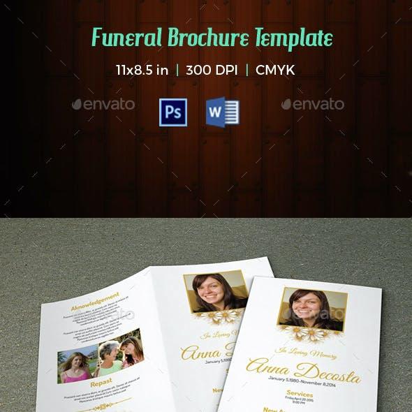 Funeral Program Template-V47