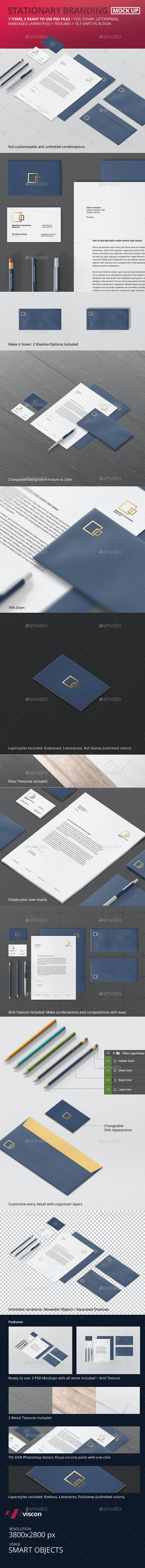 Stationary / Branding Mock-Up - Stationery Print