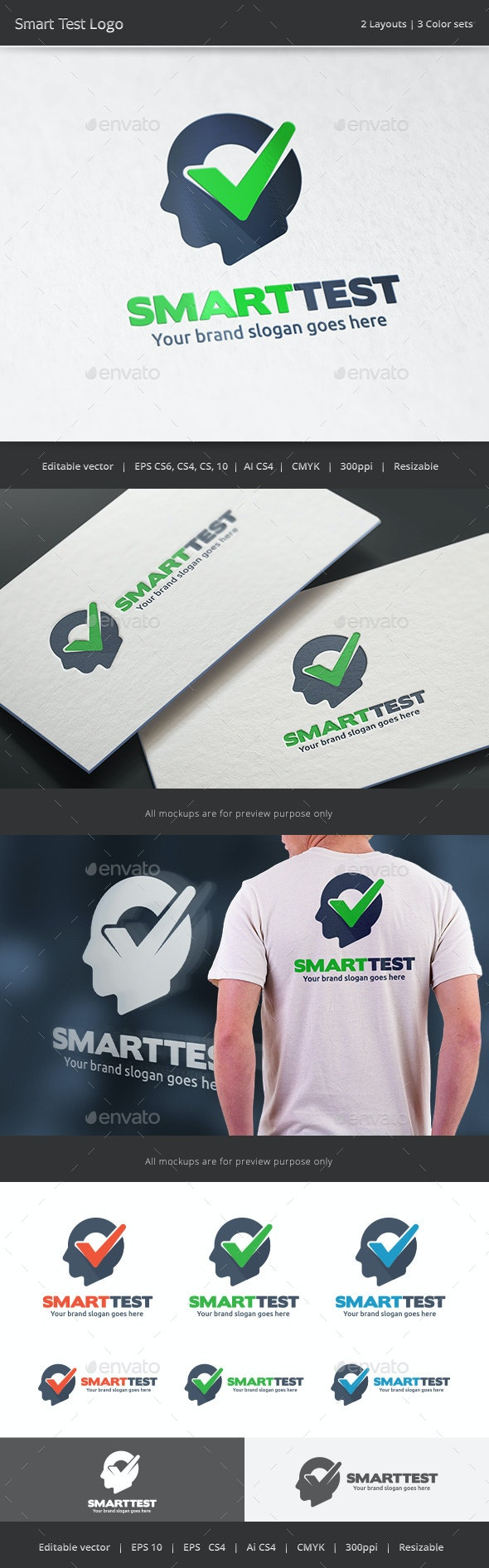Smart Check Logo - Vector Abstract