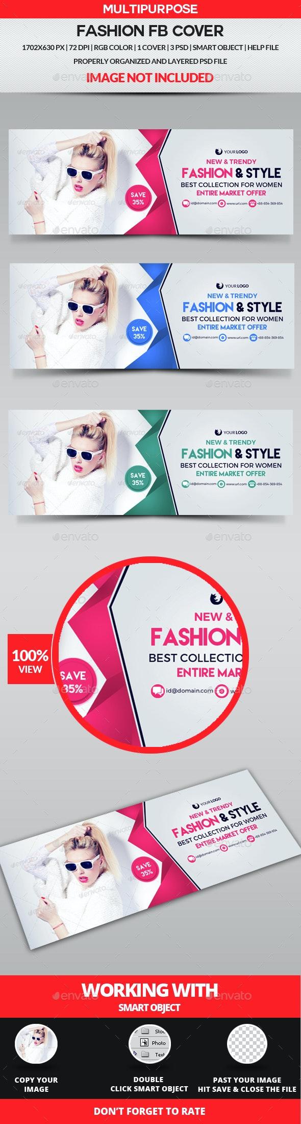 Fashion Facebook Cover - Facebook Timeline Covers Social Media