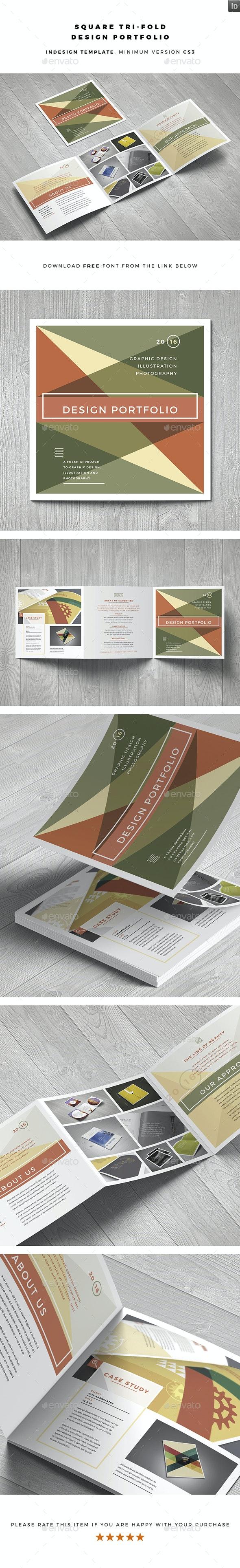 Square Design Portfolio - Portfolio Brochures