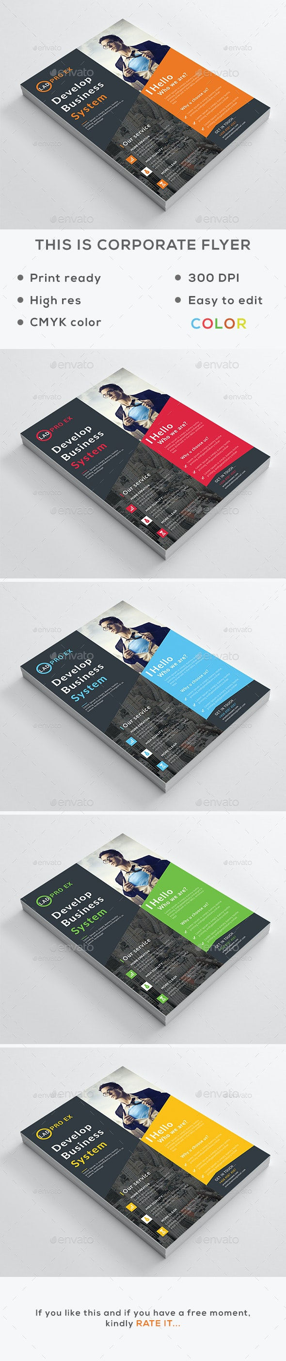 Corporate Flyer v1 - Corporate Flyers
