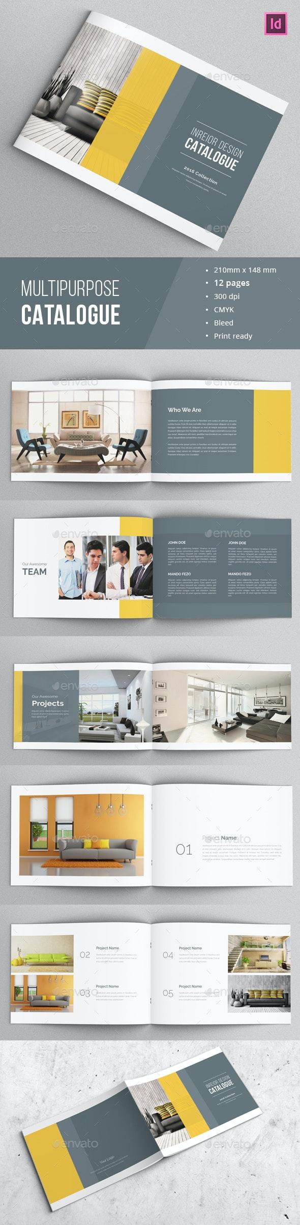 Minimal A5 Catalogue 03 - Catalogs Brochures