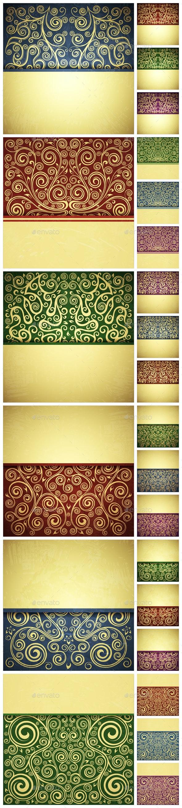 Floral Backgrounds - Backgrounds Decorative