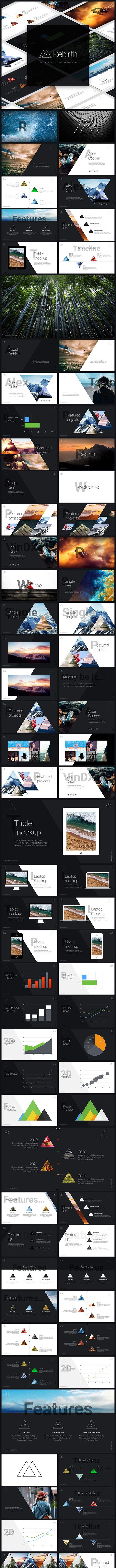Rebirth Google Presentation - Google Slides Presentation Templates