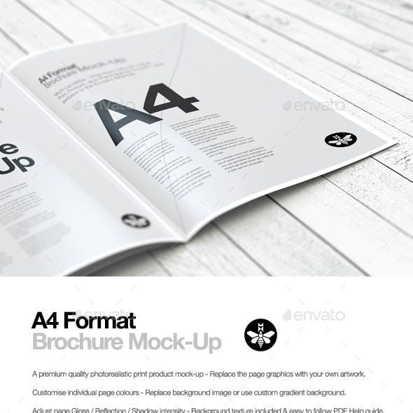 A4 Portrait | Brochure | Booklet | Magazine Mock-Up