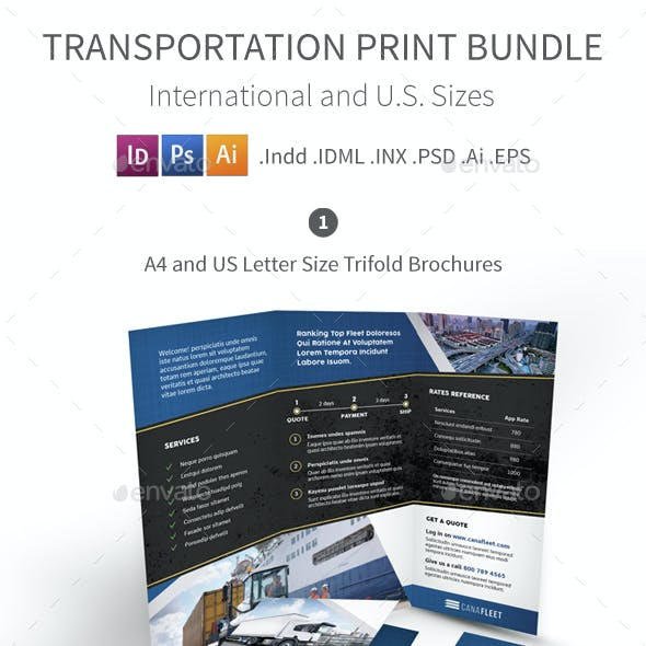Transportation Company Print Bundle