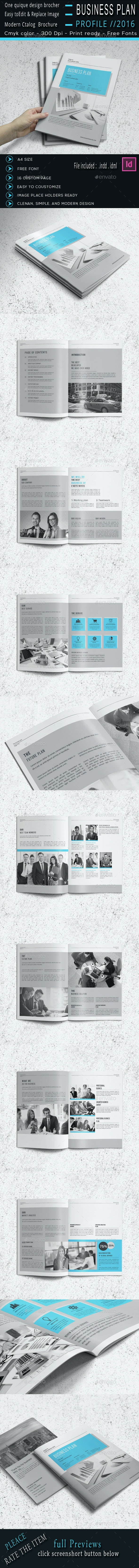 The Business Plan - Corporate Brochures