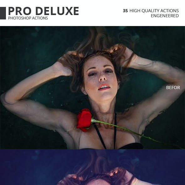 Pro Deluxe Photoshop Actions