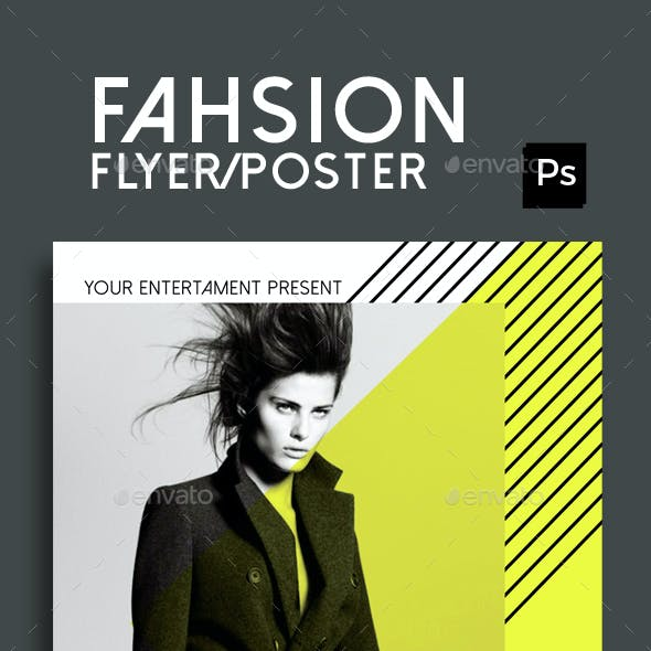Fashion Show Flyer Poster