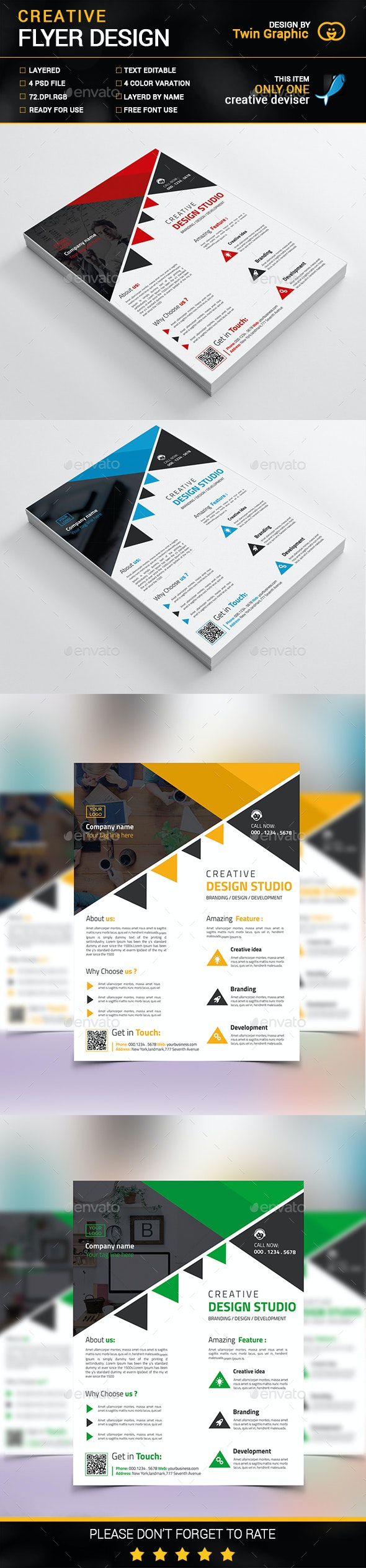 Creative Flyer Design - Corporate Flyers
