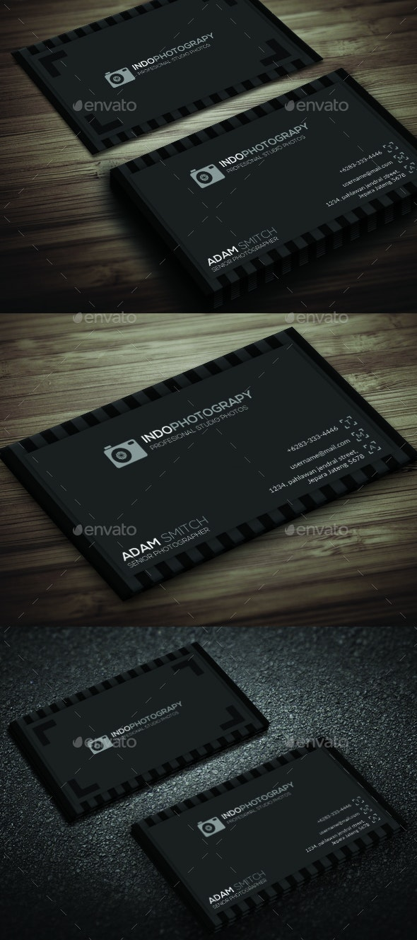 Minam Clasic Photography - Corporate Business Cards
