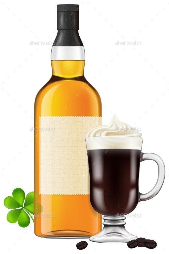 Irish Coffee - Food Objects
