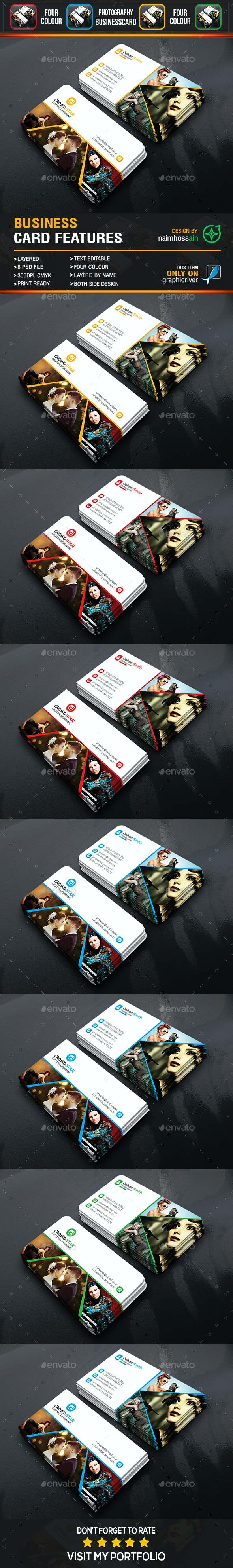 Smart Photography Business Card - Business Cards Print Templates