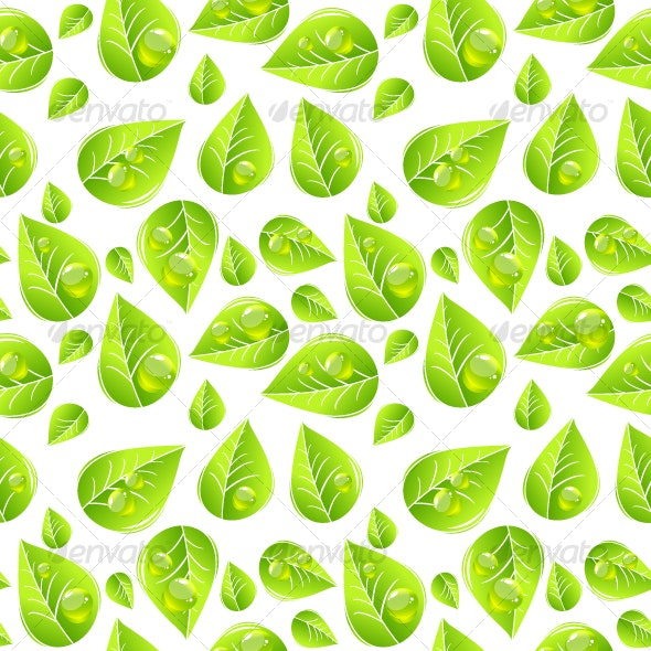 Leaves seamless pattern - Nature Conceptual