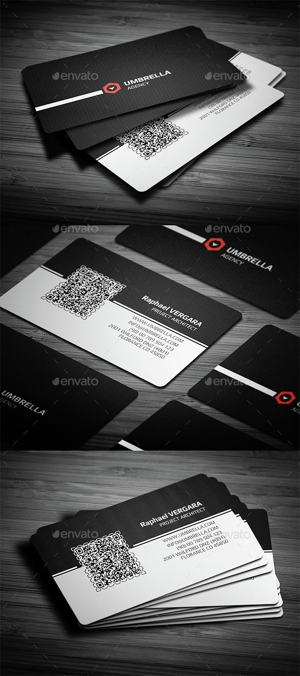 Qr 2 Corporate Business Card - Creative Business Cards