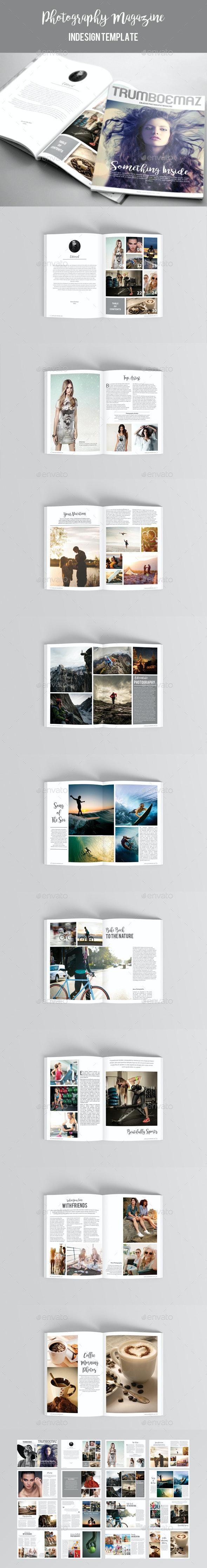Photography Magazine Template - Magazines Print Templates
