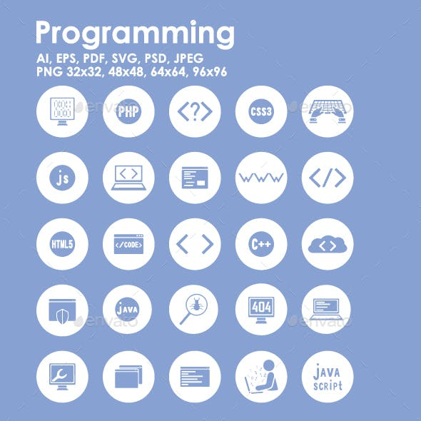 25 Programming icons