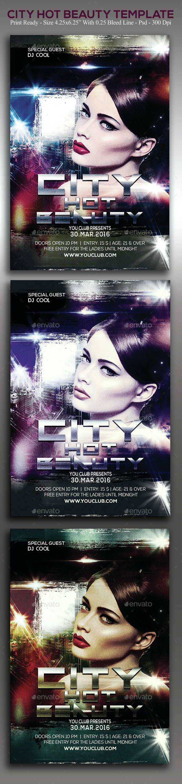 City Hot Beauty - Clubs & Parties Events