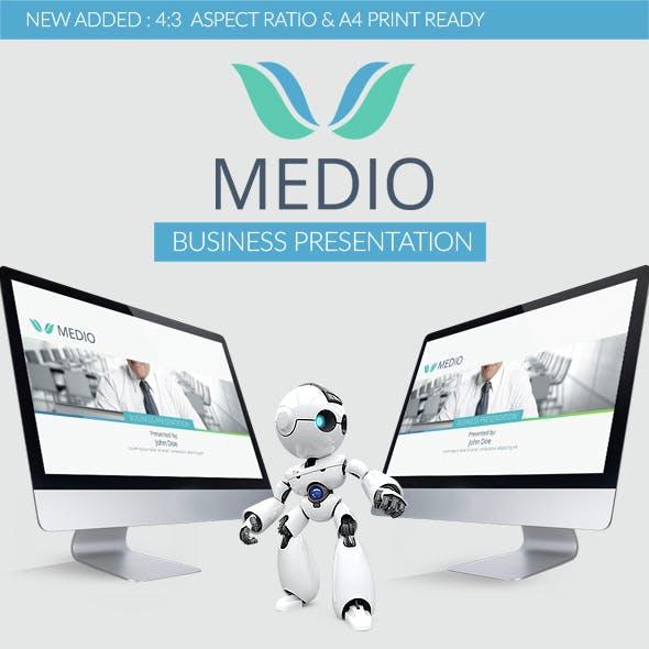 Medio PowerPoint Template