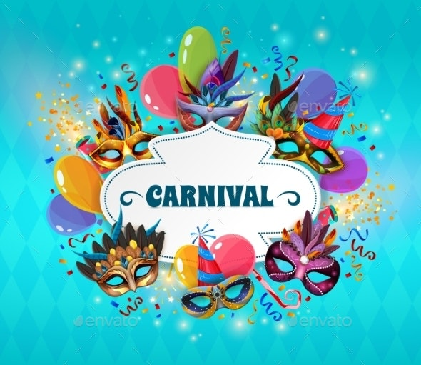 Carnival Concept Illustration  - Birthdays Seasons/Holidays