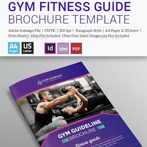 GYM Fitness Guideline Brochure / Catalog