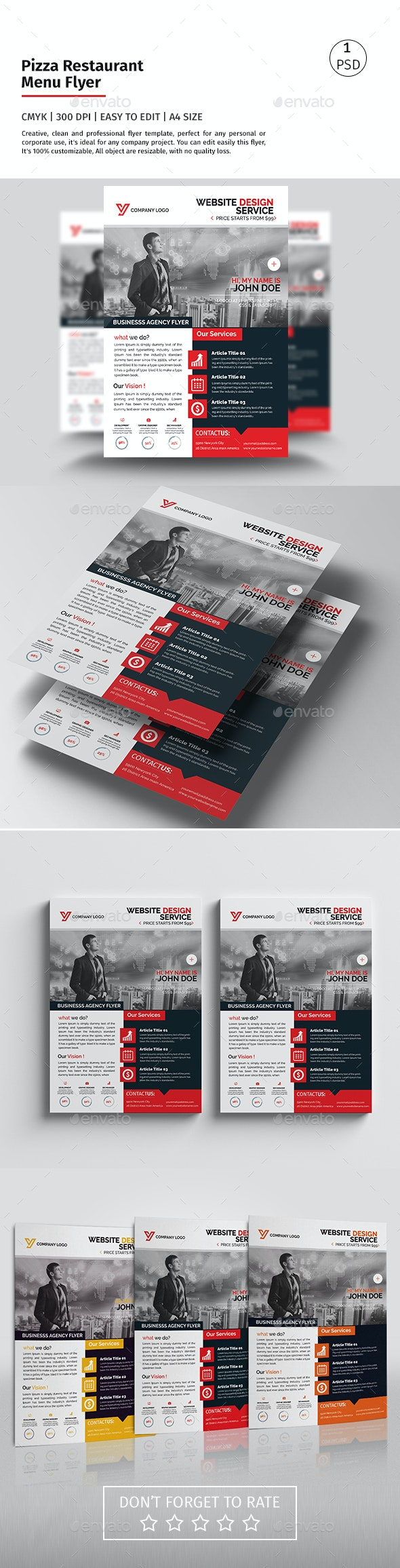 A4 Corporate Flyer 09 - Corporate Flyers