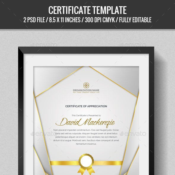 Multipurpose Certificates